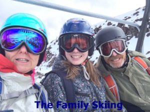 The Family Skiing